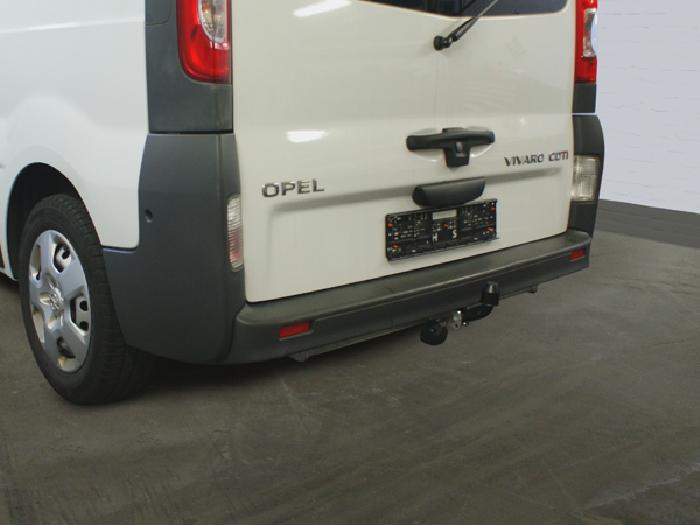 Anhängerkupplung Opel-Vivaro Kasten/ Bus/ Kombi, Baureihe 2003-2006 Ausf.:  feststehend