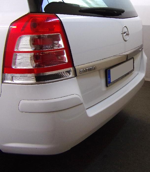 Anhängerkupplung Opel-Zafira B, Van, CNG- Modelle, Fzg. mit REC, Baureihe 2005-2015 Ausf.:  vertikal