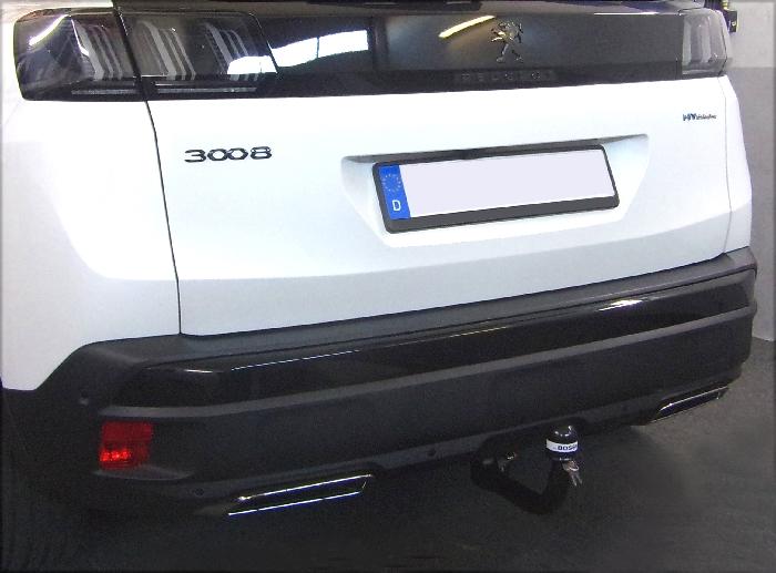 Anhängerkupplung Peugeot-3008 Hybrid, Baureihe 2020- Ausf.:  vertikal