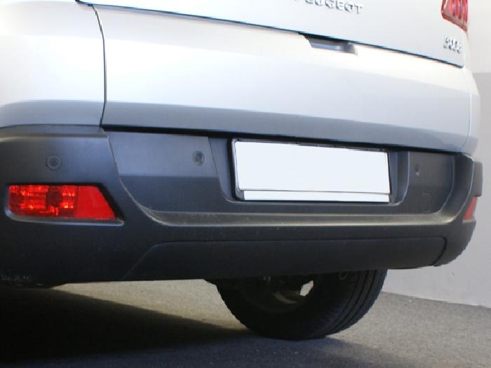 Anhängerkupplung Peugeot-3008, Baureihe 2010-2016,  Ausf.:  vertikal