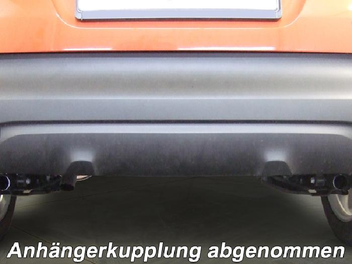 Anhängerkupplung Renault-Captur, Baureihe 2013-2019  vertikal