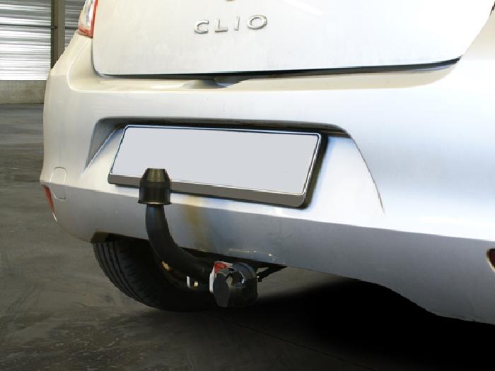 Anhängerkupplung Renault-Clio III Fließheck, nicht RS, RSI, GT, Sport, Baureihe 2009-2014 Ausf.:  feststehend