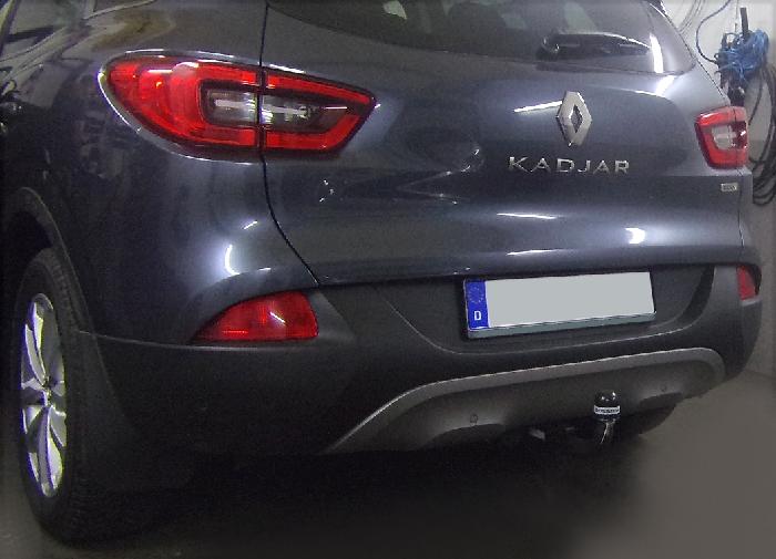 Anhängerkupplung für Renault-Kadjar, Baureihe 2015-2018  vertikal