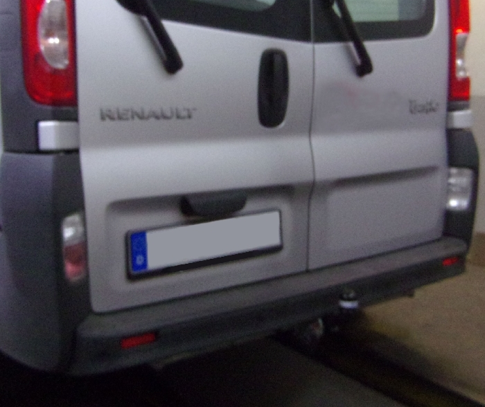 Anhängerkupplung für Renault-Trafic Kasten, Bus,alle, Baureihe 2008-2014  feststehend