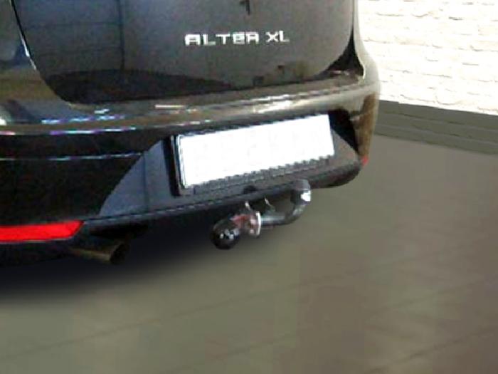 Anhängerkupplung Seat-Altea XL, Baureihe 2006- Ausf.:  feststehend