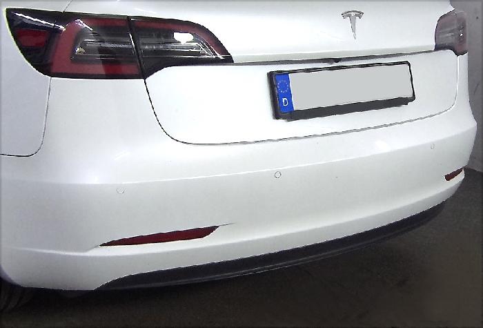 Anhängerkupplung Tesla Model 3 Heckträgeraufnahme, nur für Heckträgerbetrieb, Baureihe 2020-  vertikal