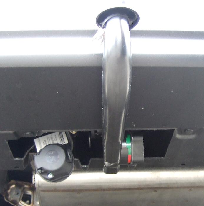 Anhängerkupplung Toyota Prius IV W5 spez. PLUG-IN, nur für Heckträgerbetrieb, Baureihe 2019-  vertikal