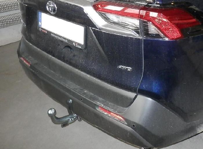 Anhängerkupplung für Toyota-RAV 4 V (XA), Baureihe 2019-  horizontal