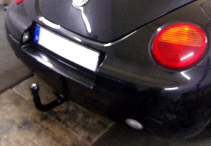 Anhängerkupplung VW-Beetle incl. Cabrio, spez. für Fzg. mit Parktronic, Baureihe 2003-2004 Ausf.:  vertikal