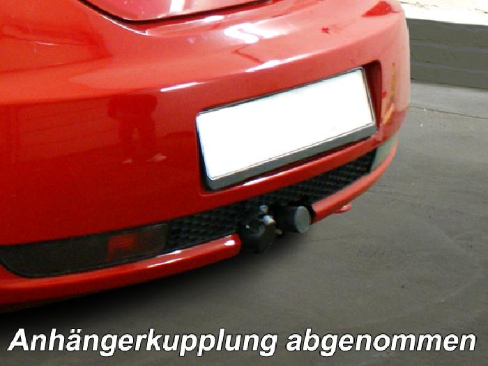 Anhängerkupplung für VW-Beetle incl. Cabrio, nicht für Fzg. mit Parktronic, Baureihe 2005-2011  horizontal