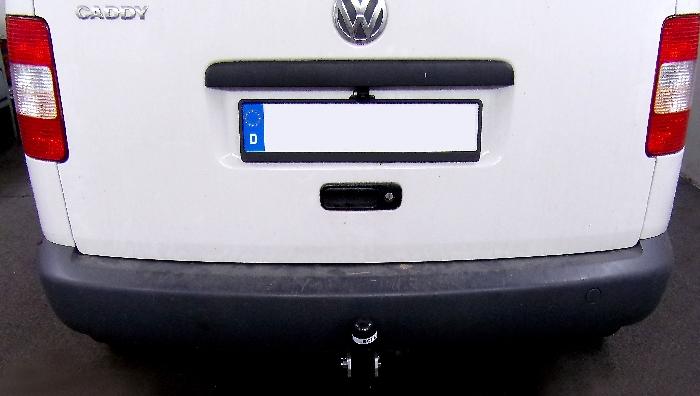 Anhängerkupplung VW-Caddy Allrad, 4x4, Baureihe 2008-2015 Ausf.:  feststehend