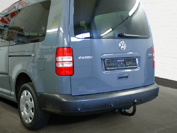 Anhängerkupplung VW-Caddy III, IV, Kasten/ Bus/ Kombi, incl. Life, Baureihe 2004-2015