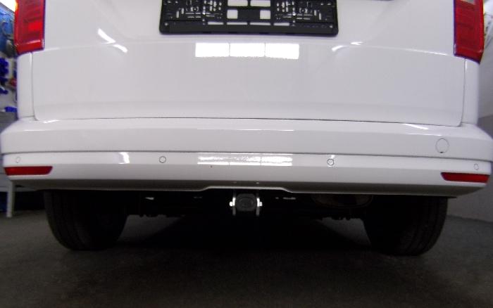 Anhängerkupplung VW-Caddy IV, Maxi mit Benzin- o. Dieselmotor, Baureihe 2015-2020 Ausf.:  horizontal