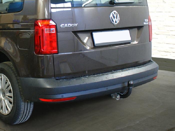 Anhängerkupplung VW-Caddy III, IV, Cross, Baureihe 2013-2015 Ausf.:  feststehend