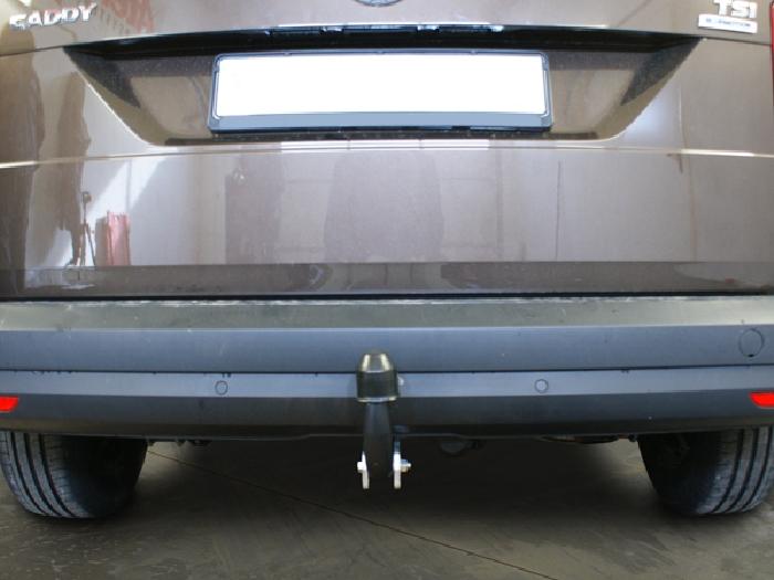 Anhängerkupplung VW-Caddy III, IV, Cross, spez. Erdgasantrieb, Baureihe 2013-2015