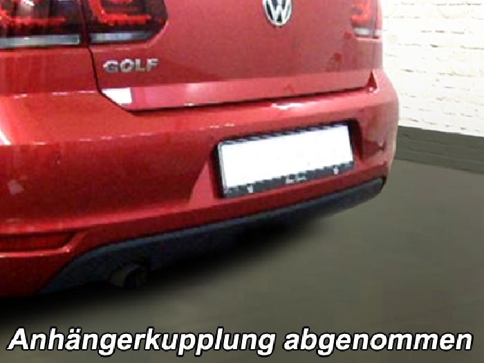 Anhängerkupplung VW-Golf VI Cabrio, Baureihe 2011- Ausf.:  vertikal