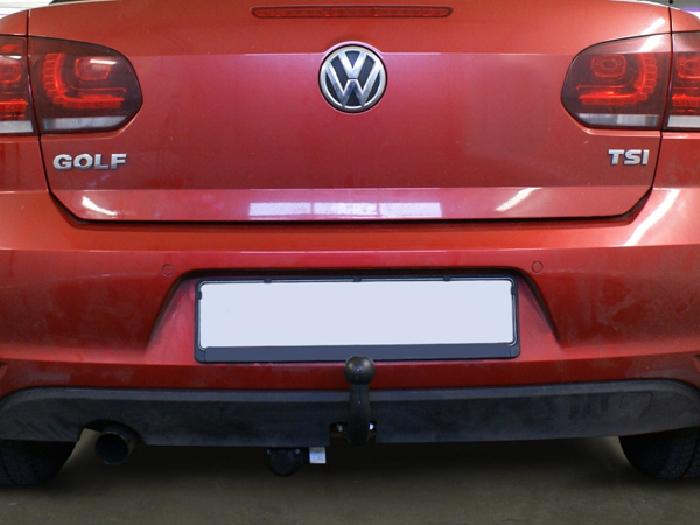 Anhängerkupplung VW-Golf VI Cabrio, Baureihe 2011- Ausf.:  feststehend