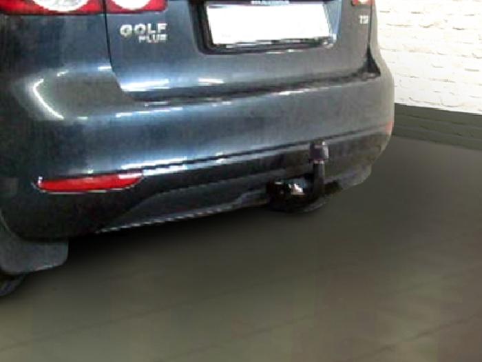 Anhängerkupplung für VW-Golf VI Plus, Baureihe 2008-  vertikal