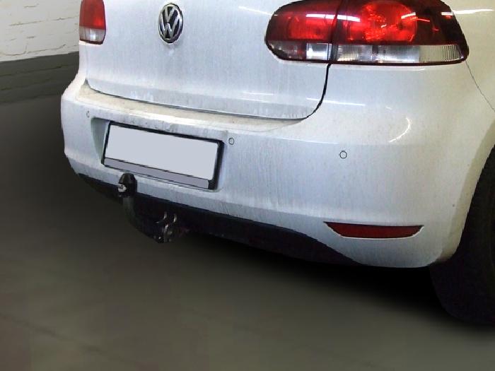 Anhängerkupplung für VW-Golf VI Limousine, nicht 4x4, Baureihe 2008-  feststehend