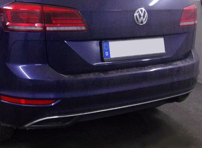 Anhängerkupplung VW-Golf VII Sportsvan, Baureihe 2018- Ausf.:  vertikal