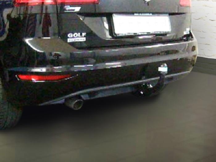 Anhängerkupplung VW-Golf VII Sportsvan, speziell für R-Line, Baureihe 2014-2018