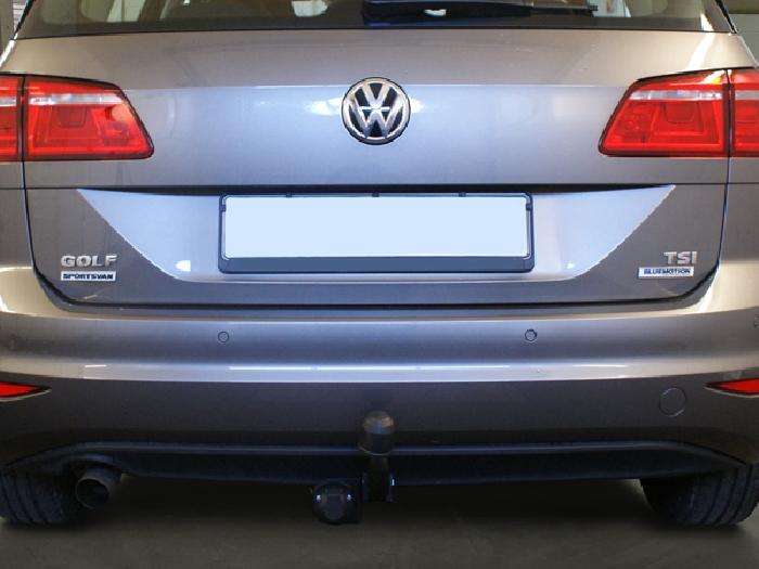 Anhängerkupplung VW Golf VII Sportsvan, Baureihe 2013-2018  feststehend