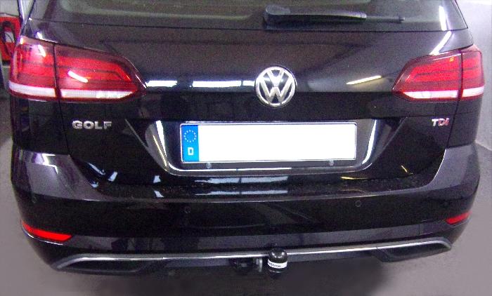 Anhängerkupplung für VW-Golf VII Variant, Baureihe 2017-  feststehend