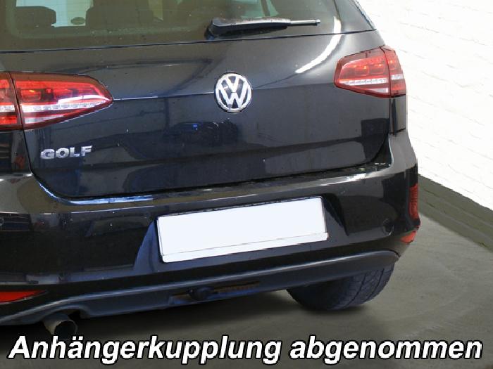 Anhängerkupplung für VW-Golf VII Limousine, nicht 4x4, Baureihe 2012-2014  vertikal