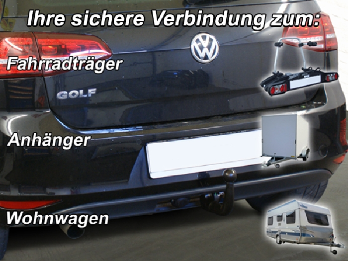 anh ngerkupplung v abnehmbar vw golf vii limousine nicht. Black Bedroom Furniture Sets. Home Design Ideas