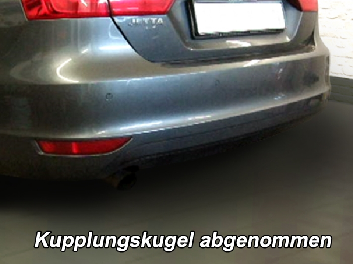 Anhängerkupplung VW-Jetta IV, Baureihe 2011-2014 Ausf.:  vertikal