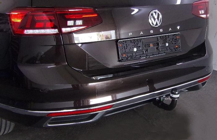 Anhängerkupplung für VW-Passat 3c, spez. Alltrack Variant, Baureihe 2014-  vertikal