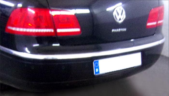 Anhängerkupplung für VW-Phaeton 3d, Limousine, Baureihe 2008-  vertikal