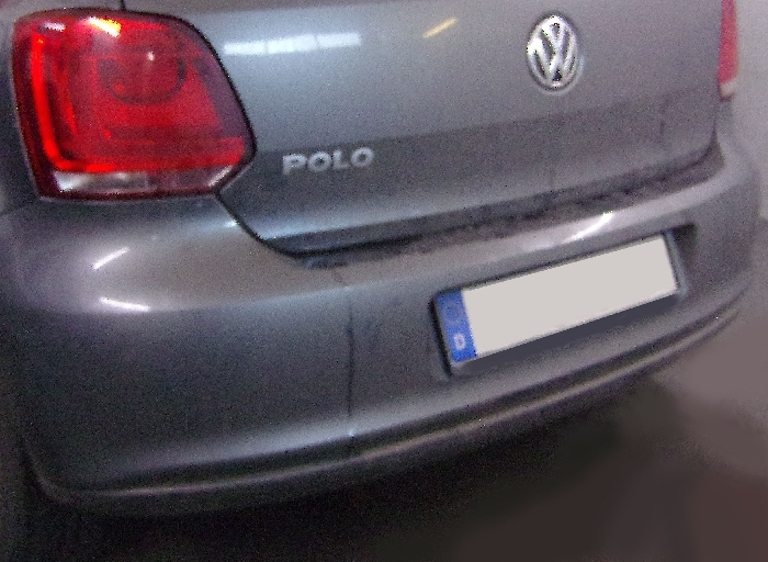 Anhängerkupplung für VW-Polo (6R)Steilheck / Coupé, Baureihe 2009-2014  vertikal