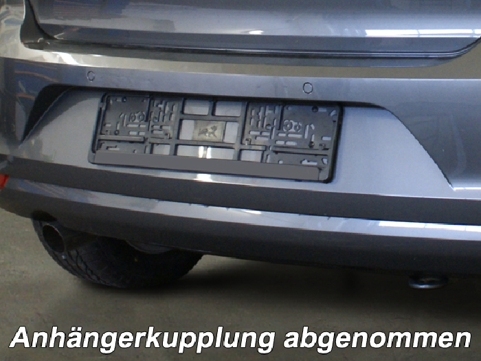 Anhängerkupplung VW-Polo (6C)Steilheck / Coupé, Baureihe 2014-2017 Ausf.:  vertikal