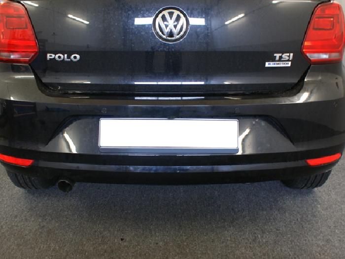 Anhängerkupplung VW Polo (6C)Steilheck / Coupé, Baureihe 2014-2017  vertikal