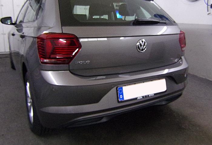 Anhängerkupplung für VW-Polo (AW) Schrägheck, Baureihe 2017-  vertikal