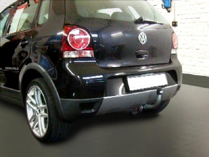 Anhängerkupplung VW-Polo (9N)Steilheck/ Coupé, inkl. Cross, nicht Fun, Baureihe 2005-2009 Ausf.:  feststehend