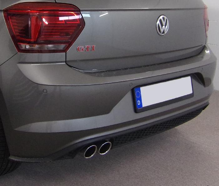Anhängerkupplung VW Polo (AW) Schrägheck, spez. GTI, Baureihe 2017-  vertikal