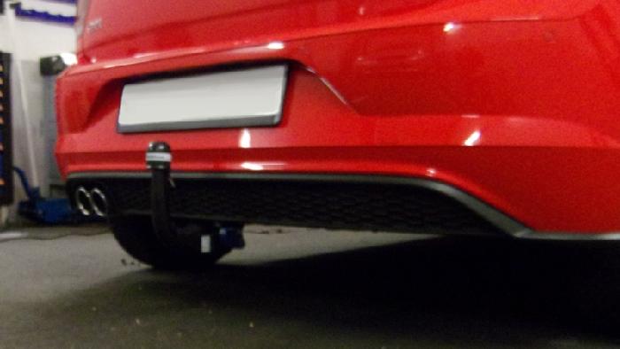 Anhängerkupplung VW-Polo (AW) Schrägheck spez. GTI, Baureihe 2017- Ausf.:  vertikal