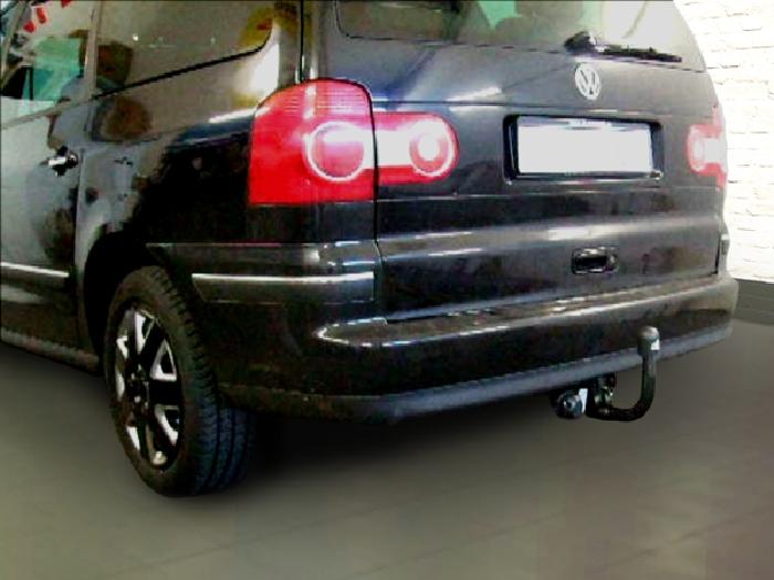 Anhängerkupplung VW-Sharan inkl. 4x4, Baureihe 2006-2010 Ausf.:  vertikal
