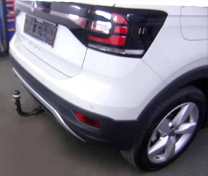 Anhängerkupplung VW-T-Cross spez. R-Line, Baureihe 2019- Ausf.:  vertikal