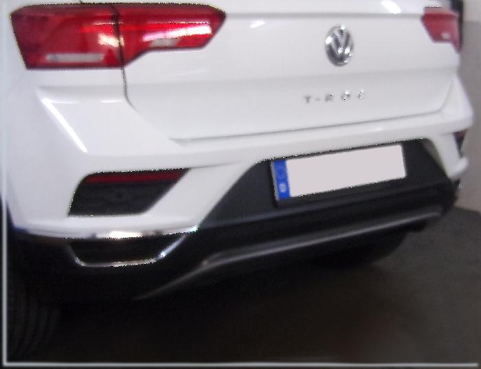 Anhängerkupplung für VW-T-roc, Baureihe 2017-  vertikal