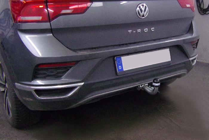 Anhängerkupplung für VW-T-roc, Baureihe 2017-  horizontal