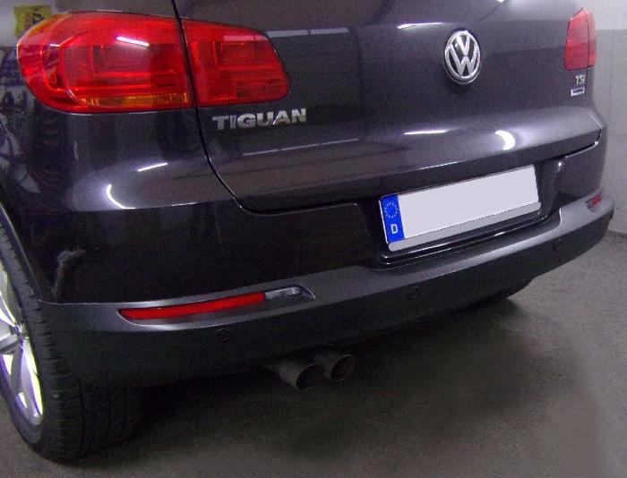 Anhängerkupplung VW-Tiguan, Baureihe 2007-2015,  Ausf.:  vertikal