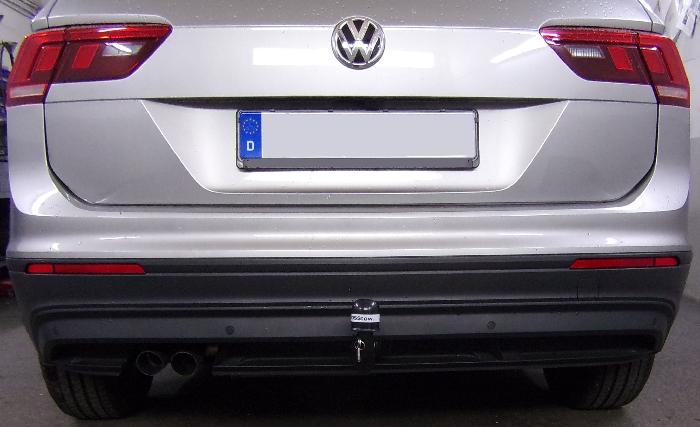 Anhängerkupplung VW-Tiguan, Baureihe 2016-,  Ausf.:  vertikal