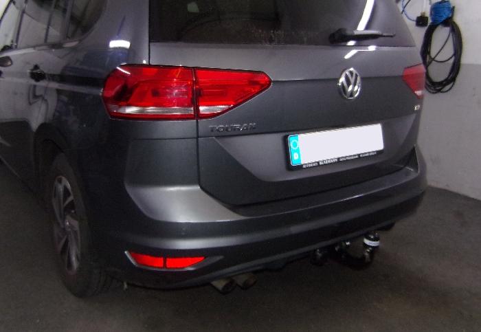 Anhängerkupplung VW-Touran Van, Baureihe 2015- Ausf.:  vertikal