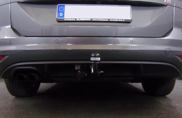 Anhängerkupplung für VW-Touran Van, Baureihe 2015-  vertikal