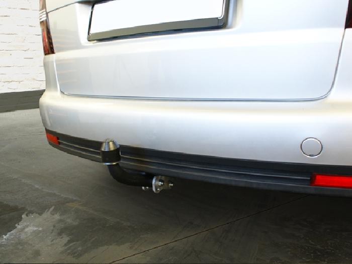Anhängerkupplung VW-Touran Van, spez. 5 Sitzer m. Erdgas(Ecofuel), Baureihe 2010-2015 Ausf.:  feststehend