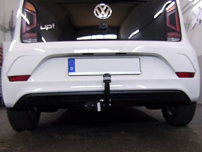 Anhängerkupplung für VW-Up nicht Erdgas, nur für Heckträgerbetrieb, Baureihe 2012-2016  feststehend