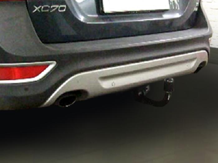 Anhängerkupplung für Volvo-XC 70 Cross Country, ohne Niveauregulierung, Baureihe 2007-2016  vertikal
